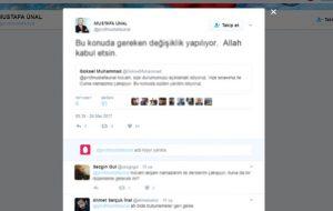 AÜ Rektörü Ünal'dan vize sınavına cuma namazı düzenlenmesi sözü