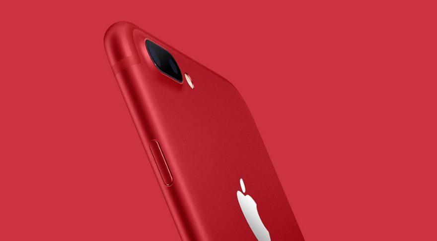 Kırmızı iPhone 7 için ilk kutu açılışı!