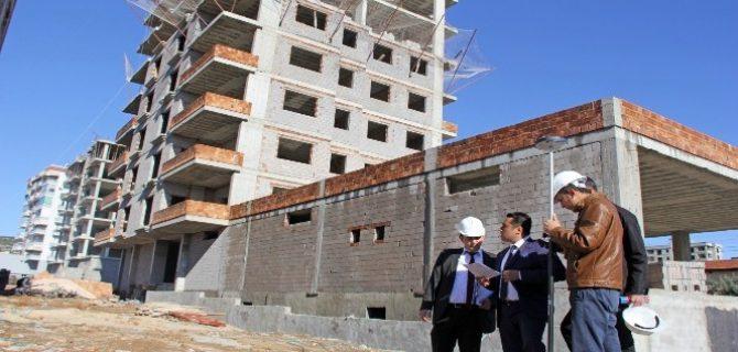 Kozan'da inşaat denetimleri sıklaştırıldı