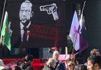 Son dakika… İsviçre'de açılan pankart için iki ülkede soruşturma başlatıldı