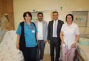 Ünye Devlet Hastanesi doktorlarından bir ilk daha!