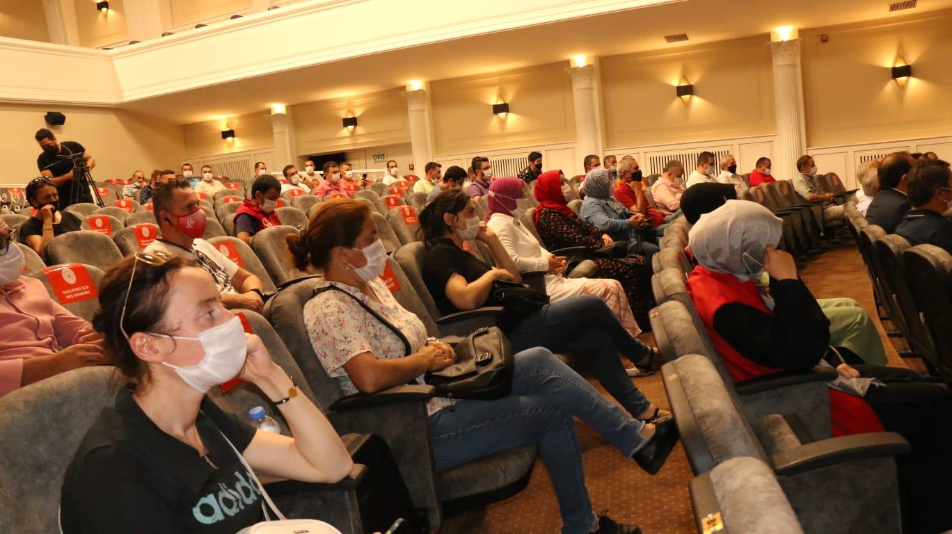ORDU'DA MALAZGİRT VE 30 AĞUSTOS ZAFERİ SÖYLEŞİ İLE KUTLANDI