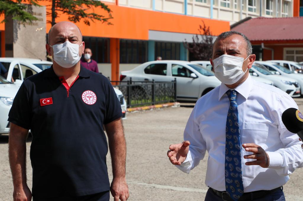 ORDU VALİLİĞİ'DEN PANDEMİ ÇALIŞMALARINA ARAÇ DESTEĞİ