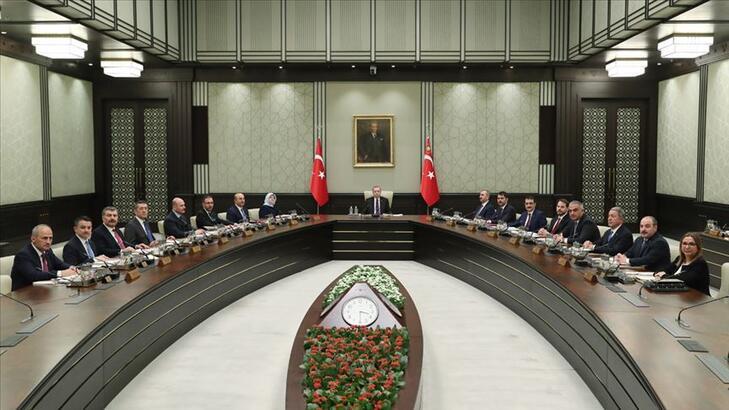 Kabine toplantısı saat 15.00'te başlayacak