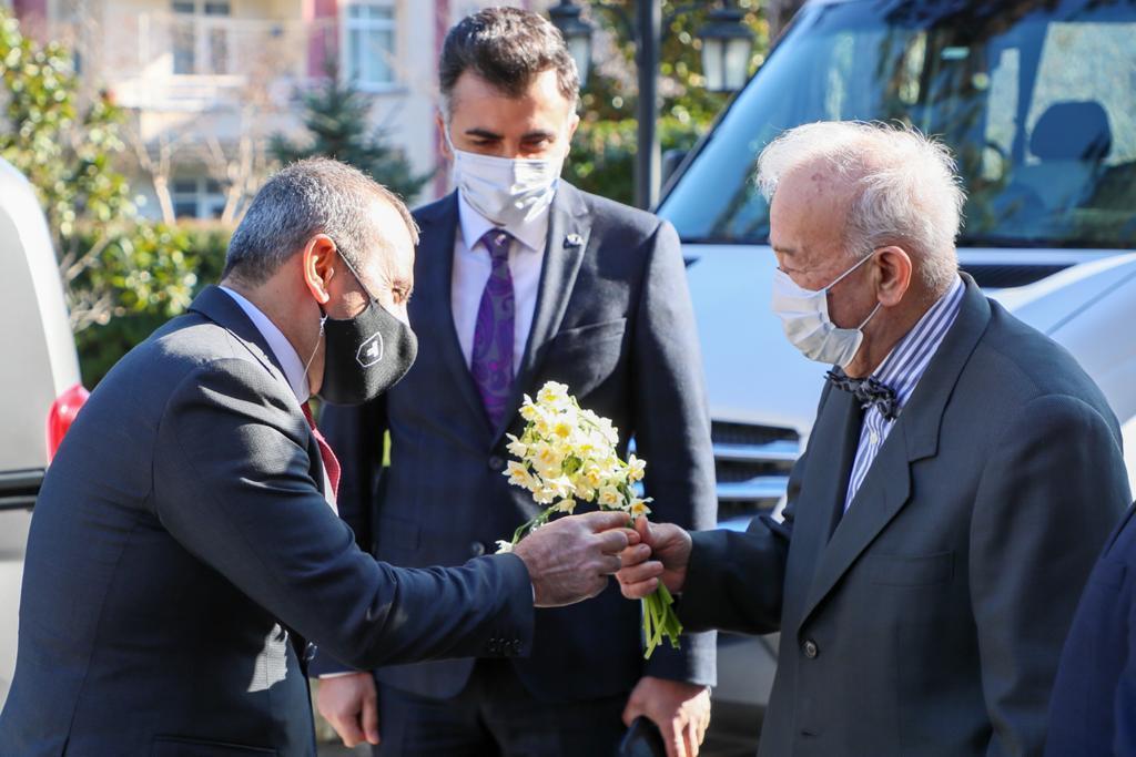 36'ncı Okul, Prof. Dr. Kapıcıoğlu'ndan