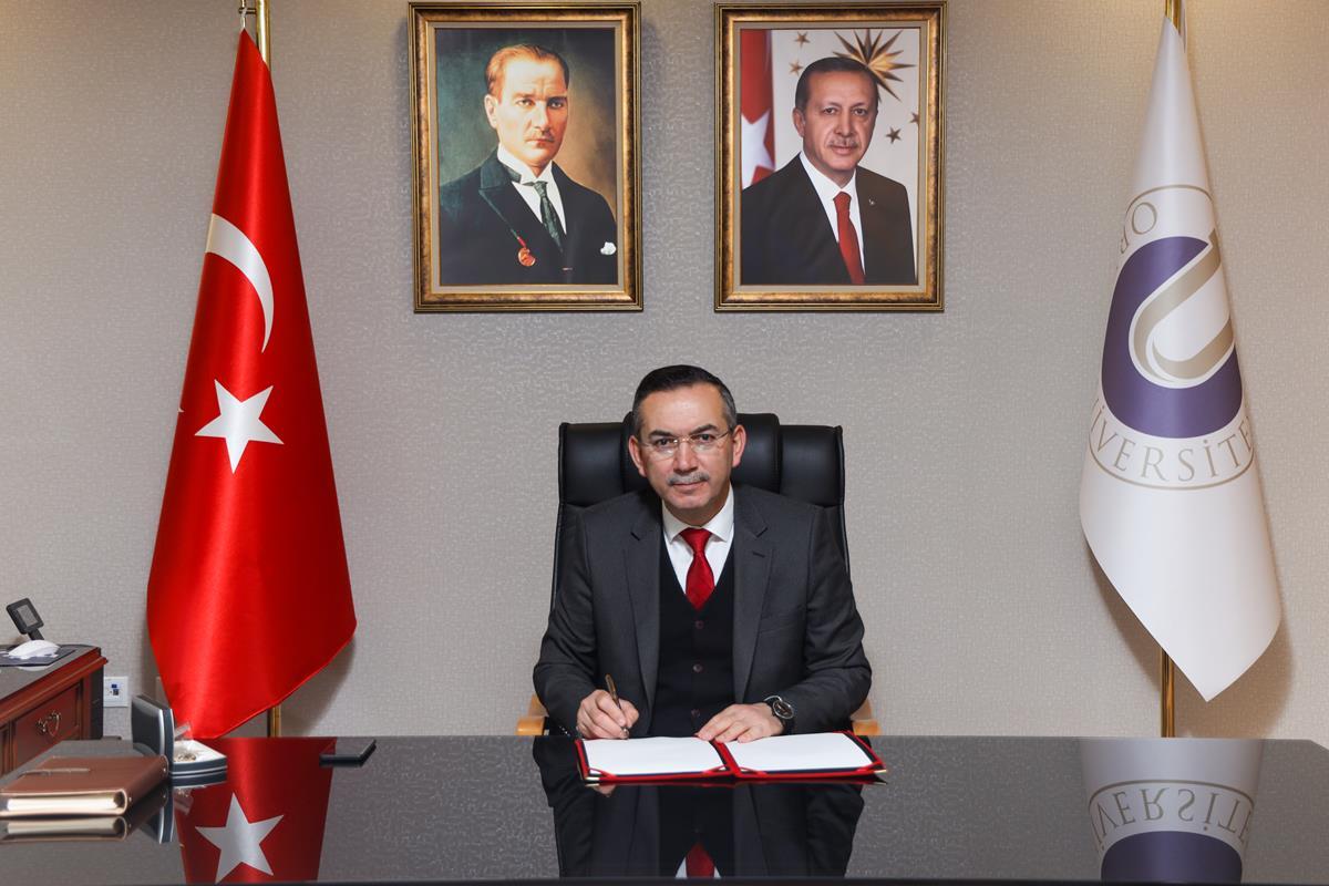 Rektör Prof. Dr. Ali Akdoğan'ın Ramazan Bayramı Kutlama Mesajı