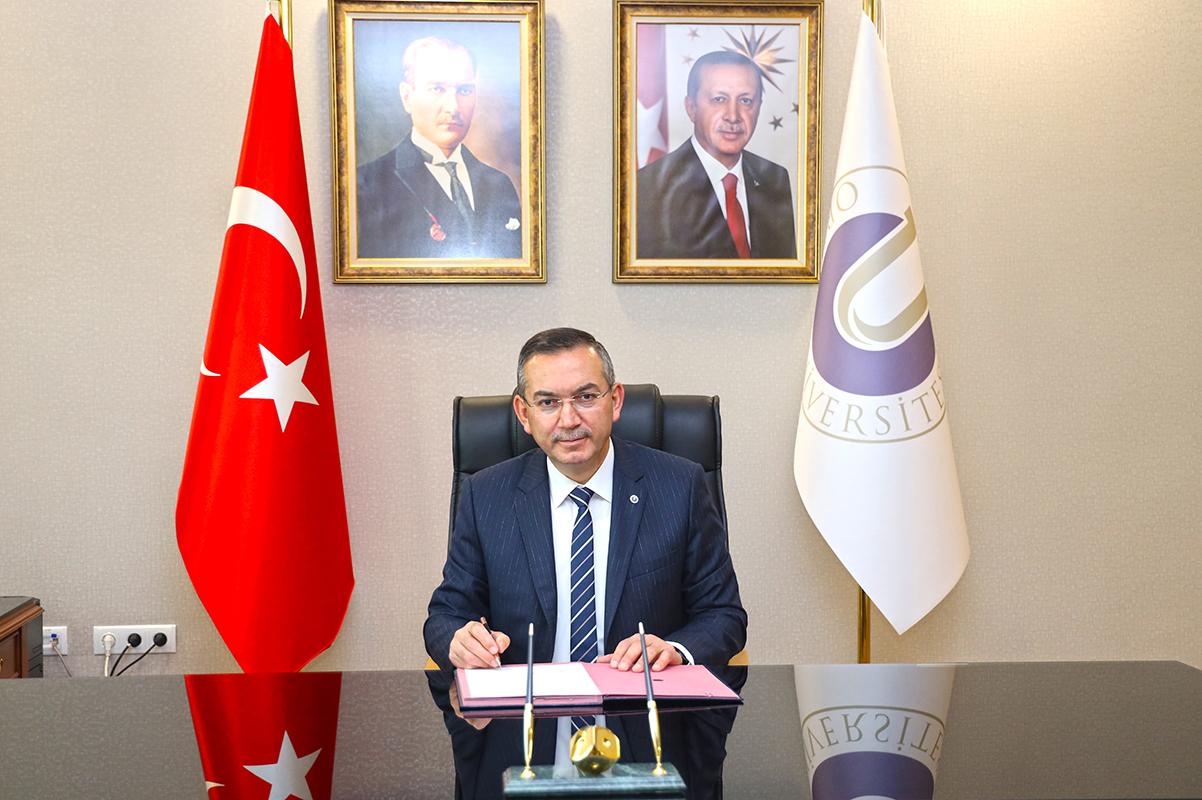 Rektör Prof. Dr. Ali Akdoğan'ın 19 Mayıs Atatürk'ü Anma, Gençlik ve Spor Bayramı Kutlama Mesajı