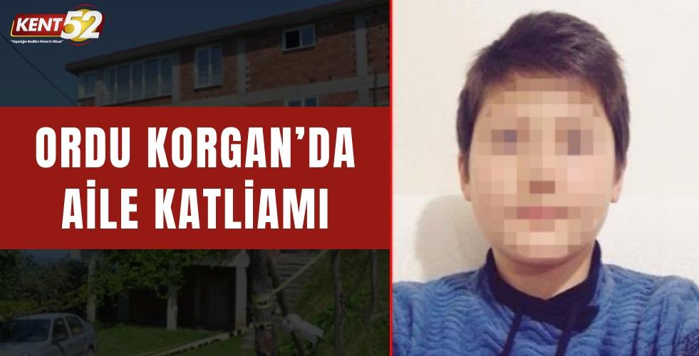Ordu Korgan'da Aile Katliamı