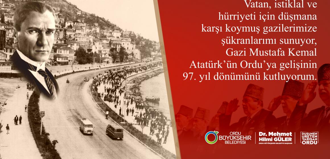 Güler'in, Gaziler Günü Mesajı