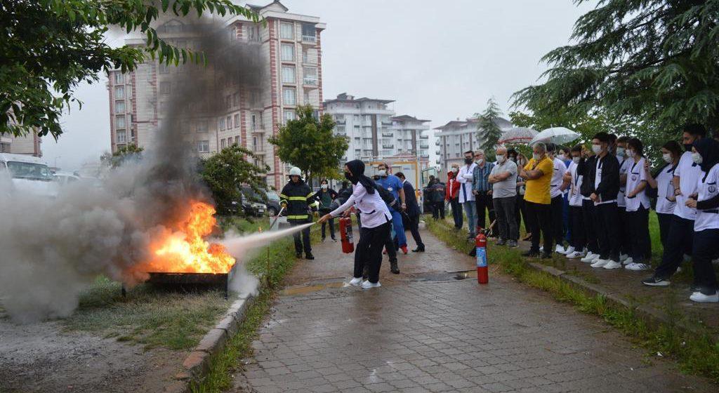 Personellere Yangın Eğitimi